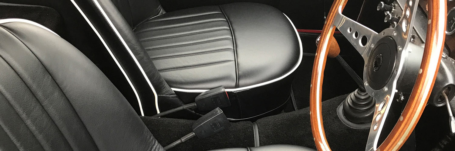 Classic Car Interior Repairs - Trimming & Upholstery Services