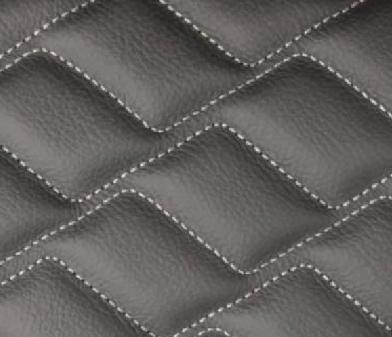 Wave / Diamond Wave Leather Upholstery Pattern