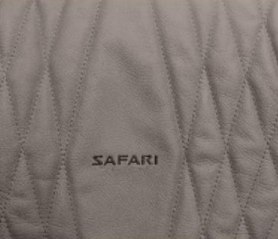 Diamond Geometric Leather Upholstery Pattern