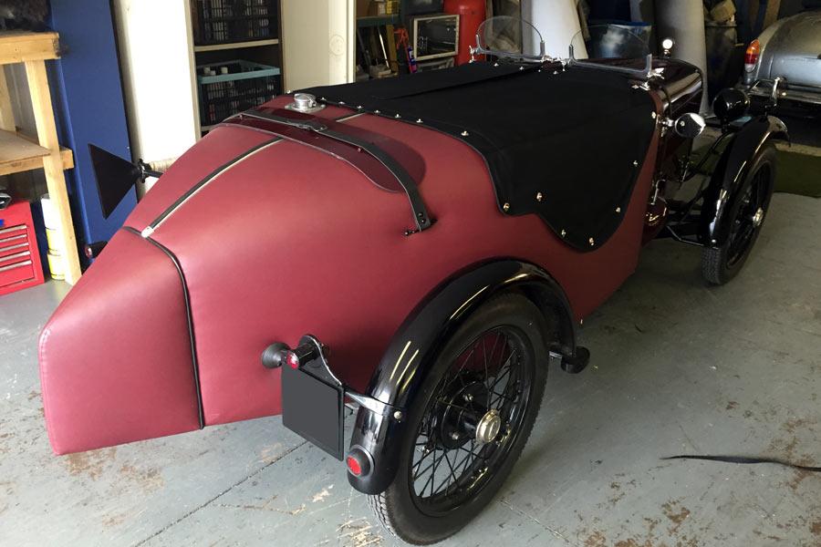 Classic Car Tonneau Cover Fitting